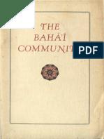 Baha'i Community