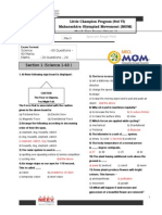 Mock Test Paper MOM Std 6