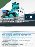 Ecofriendly Materials