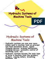 Lecture 5_Hydraulic Systems of Machine Tools
