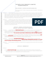 FCDC Bylaws proposed amendments January 2010