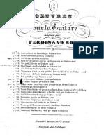 Fernando Sor the Complete Studies