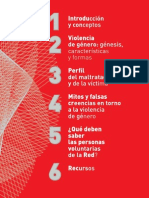 Violencia Genero Documentacion Red Ciudadana Folleto