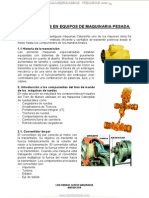 Manual Transmisiones Equipos Maquinaria Pesada