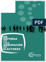Ponencia Agrupacion Electores CORDOBA