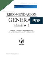 RECOMENDACION GENERAL NUMERO 5 CNDH.docx