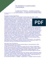 Contributia Lui Titu Maiorescu La Dezvoltarea Literaturii Si Culturii Romane