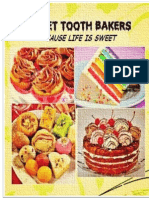 Sweet Tooth Bakers. business plan