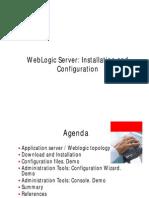 SOA Administrator Training Weblogic Server Installation