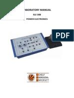 Power Electronics Lab Manual