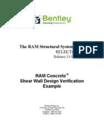RAM Concrete Shear Wall Design Verification Example (ACI) - V14.pdf
