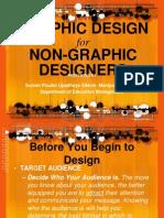 Graphic Design for non graphics designers