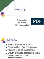 entrapreneurship