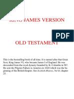 King James Version Bible - Old Testament