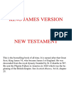 King James Version Bible - New Testament