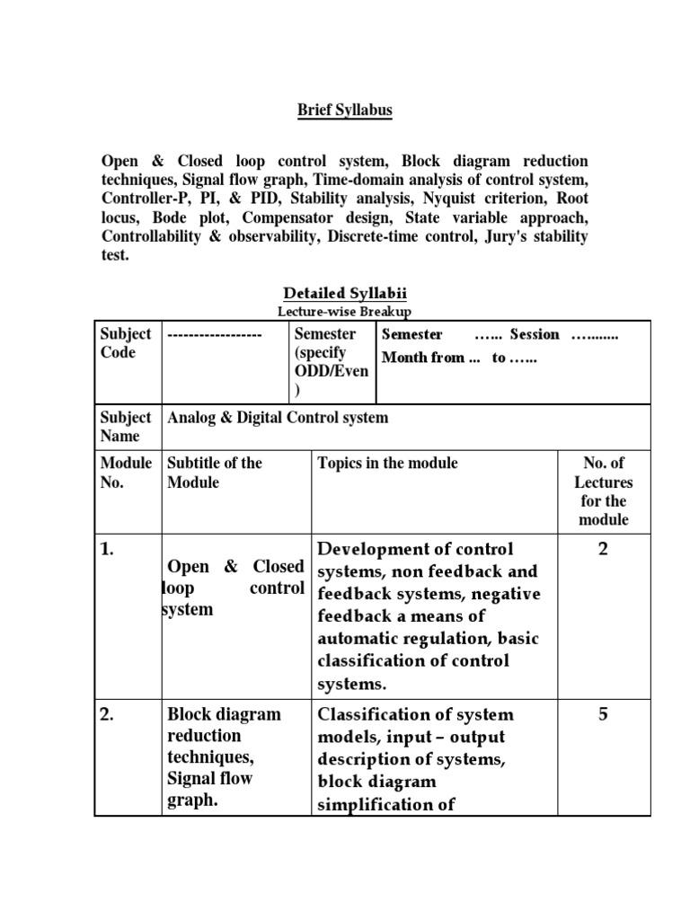 Analog Digital Control Systems Feedback Cybernetics P Controller Block Diagram