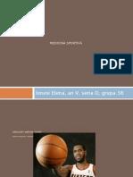 Prezentare Medicina Sportiva