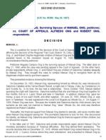 Ong vs CA _ 95386 _ May 29, 1997 _ J.pdf