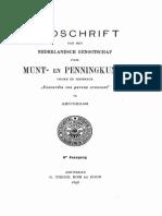 Essai de restitution d'un tiers de sou mérovingien à Nimègue / [Fréd. Alvin]