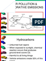 Air Pollution & Vehicle Emissions
