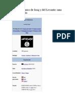 Estado Islámico de Iraq y Del Levante Una Breve Historia