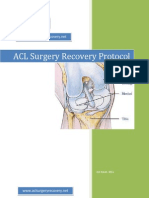 ACl Surgery Recovery Protocol