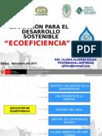 Educación en Ecoeficiencia -Rcas