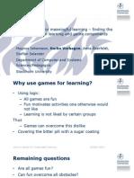 ECGBL 2014 Meaningful Learning