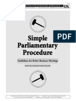 Simple Parliamentary Procedure.doc