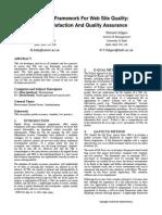 A Quality Framework for Website