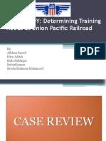 Case Study on Rail Road