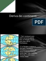 SCEINZE - Deriva Dei Continenti e Tettonica a Zolle