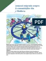 Cum Influențează Migrația Asupra Dezvoltării Comunităților Din Republica Moldova