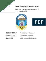ASUNTO. SEMANA Nº 4 VALUACION DE EMPRESAS - PERCY PALOMINO ROBLES.docx
