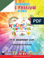 Krackerjack Karnival Sponsorship Details