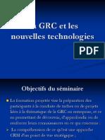 La GRC Et Les Nouvelles Technologies