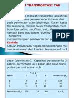 Metode Transportasi Tak Seimbang1