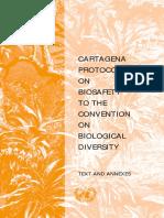 Cartagena-protocol-En - Biologica Diversity Protocol