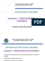 Trigonometria Esférica