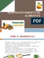 Reaproveitamento de Alimentos