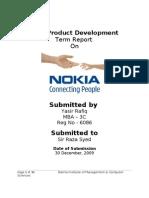 New product development Of Nokia