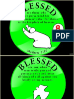 Beatitudes 8 Blessed are those persecuted.ppt