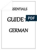 Essentials Guide to German