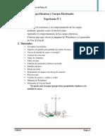 Cargas Eléctricas y Cuerpos Electrizados(1)