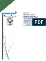 USO DE LA TEORÍA PROBABILÍSTICA EN LA TOMA DE DECISI0NES EN ADMINISTRACIÓN, CONTADURÍA, MERCADEO Y CARRERAS AFINES.doc
