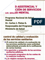 CALIDAD ASISTENCIAL Y EVALUACION DE SERVICIOS.pptx