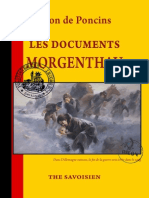 Documents Morgenthau (Léon de Poncins)