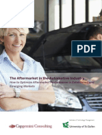 Tl the Aftermarket in the Automotive Industry