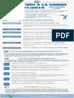 Infografia - Cronograma Transicion Iso 9001 2015