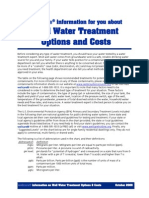Drinking Water Treatments and Costs Final